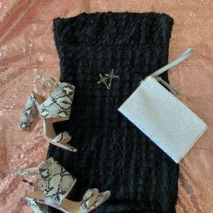 🛍 Forever 21 sequin black mini dress